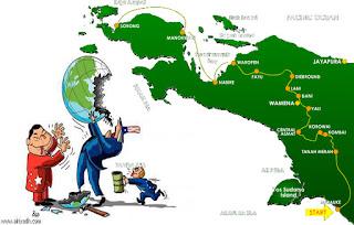 Ketika Cinta Rakyat Papua Berujung Pada Moncong  Senjata