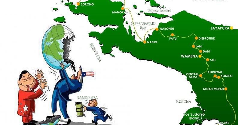 Ketika Cinta Rakyat Papua Berujung Pada Moncong Senjata | Dihaimoma ...