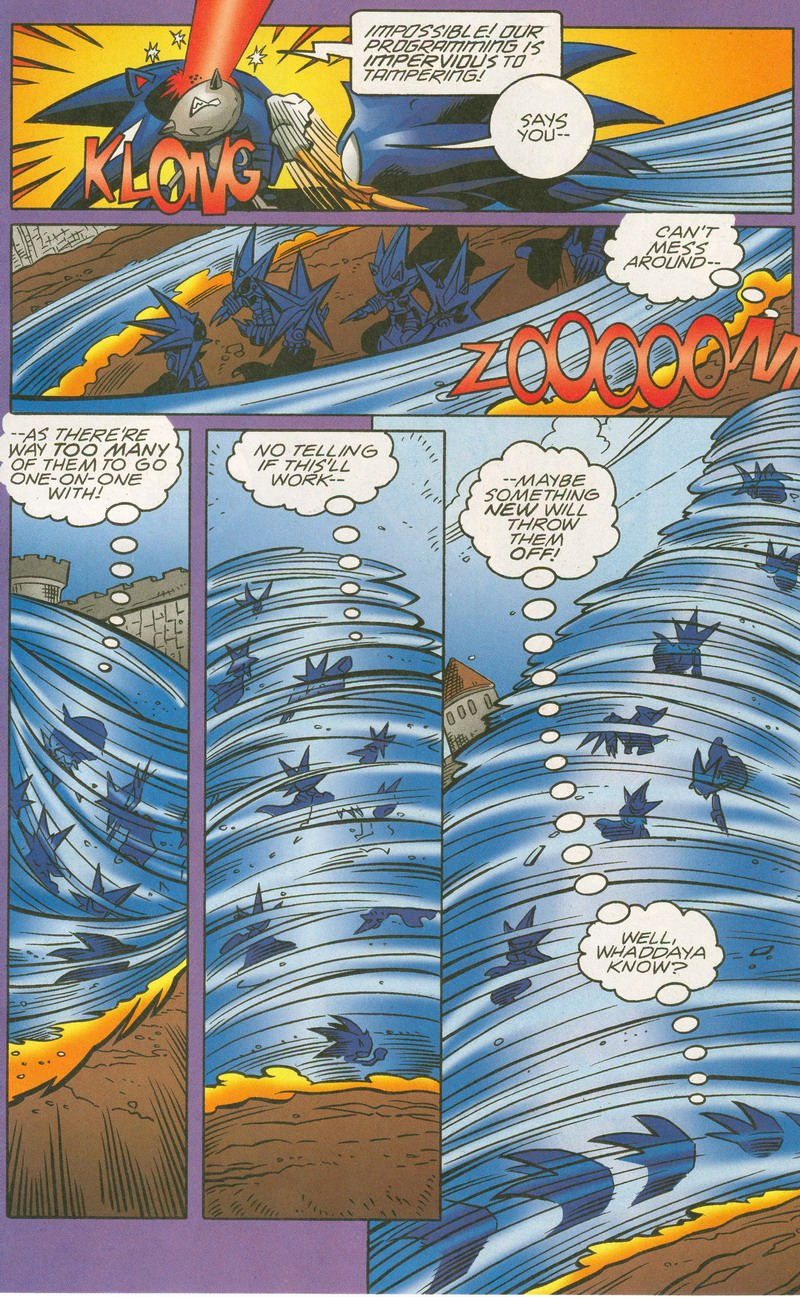 Read online Sonic The Hedgehog comic -  Issue #159 - 12