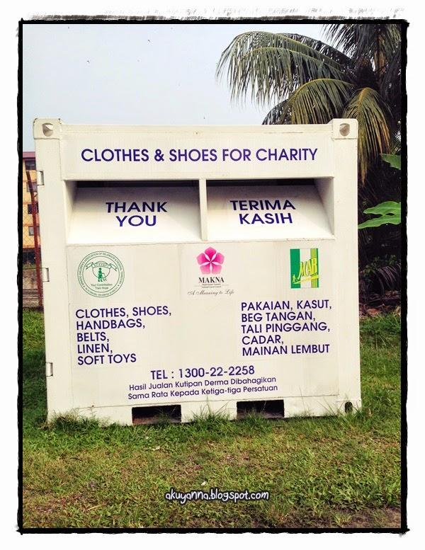 Yanna Abu Bakar: MAKNA Charity Box