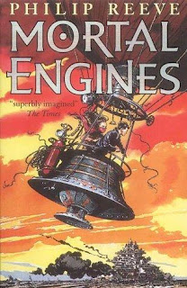Cover to Mortal Engines novel