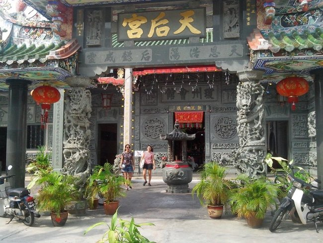 Китайский храм в Малайзии