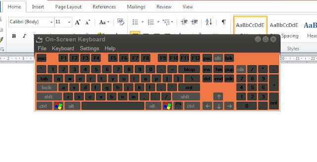 Cara Menampilkan Fungsi Tombol Keyboard