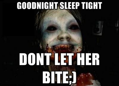 Horror and Funny Good Night Meme, Image