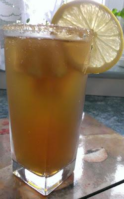 Herbata miętowa z imbirem