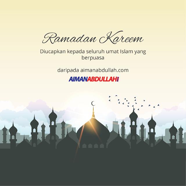 selamat bulan ramadan