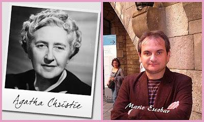 Agatha Christie, Mario Escobar, metaliteratura,
