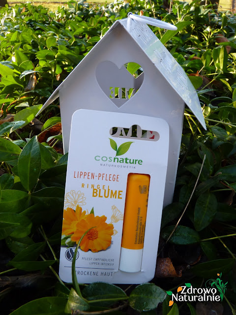 Cosnature - Naturalny ochronny balsam do ust z nagietkiem