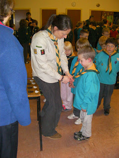 beaver scout investiture ceremony