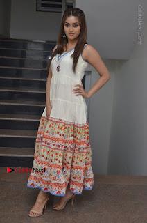 Telugu Actress Anu Emmanuel New Stills in Beautiful White Long Dress  0091.JPG