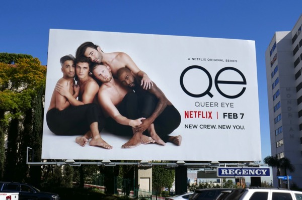 Queer Eye Netflix revival billboard