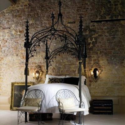 cama moderna victoriano