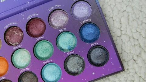 Recenzija: bh cosmetics Galaxy Chic paleta sjenila