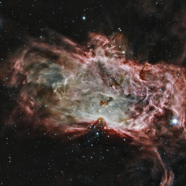 Flame Nebula in the Infrared