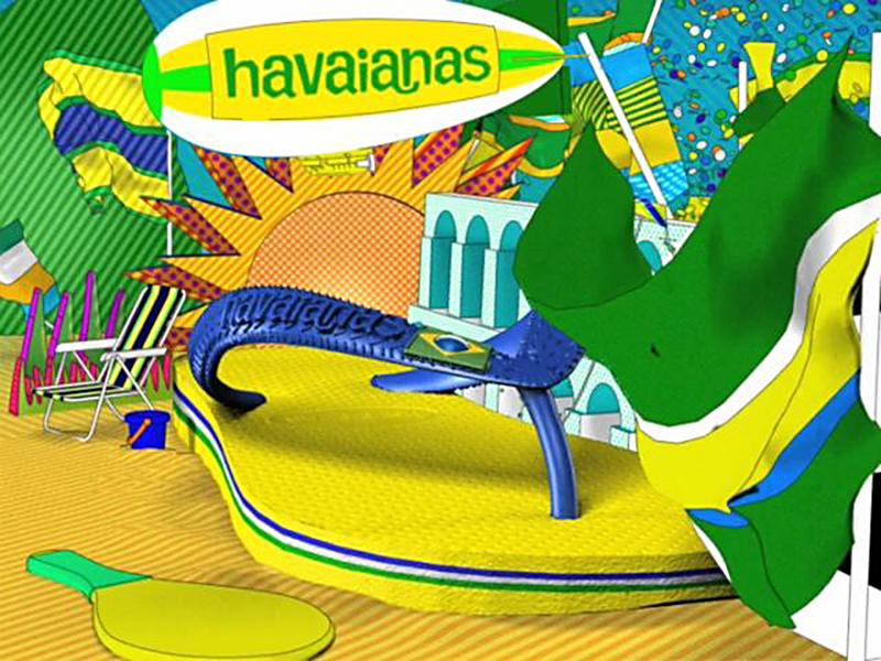 Chanclas Havaianas Brasileñas
