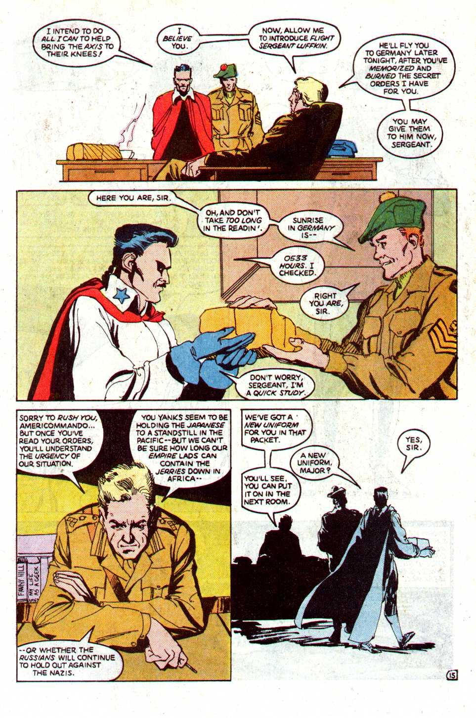 Read online Secret Origins (1986) comic -  Issue #29 - 42