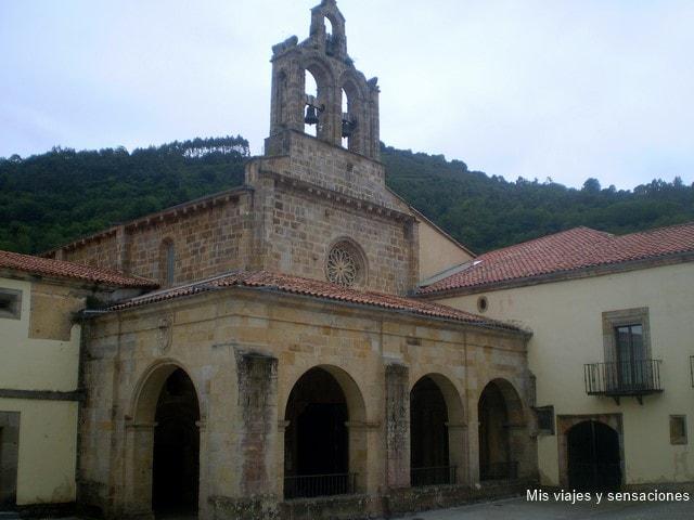 Monasterio de Santa María de Valdediós, Ruta del románico, Asturias