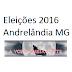 Resultado eleições 2016 prefeito e vereadores Andrelândia MG