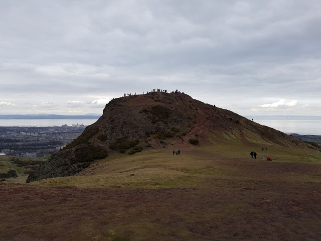 Summit of Arthurs Seat, Edinburgh, UK