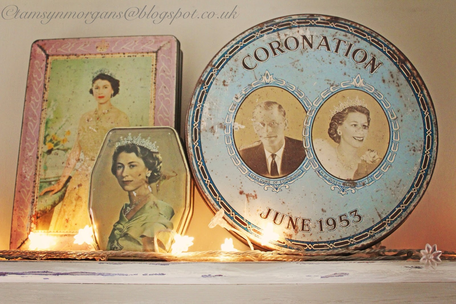 Vintage Coronation Tins…
