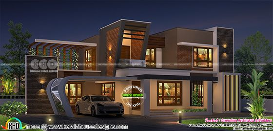 Ultra modern contemporary house 2500 sq-ft