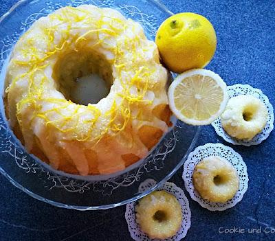 Erfrischender Zitronenkuchen
