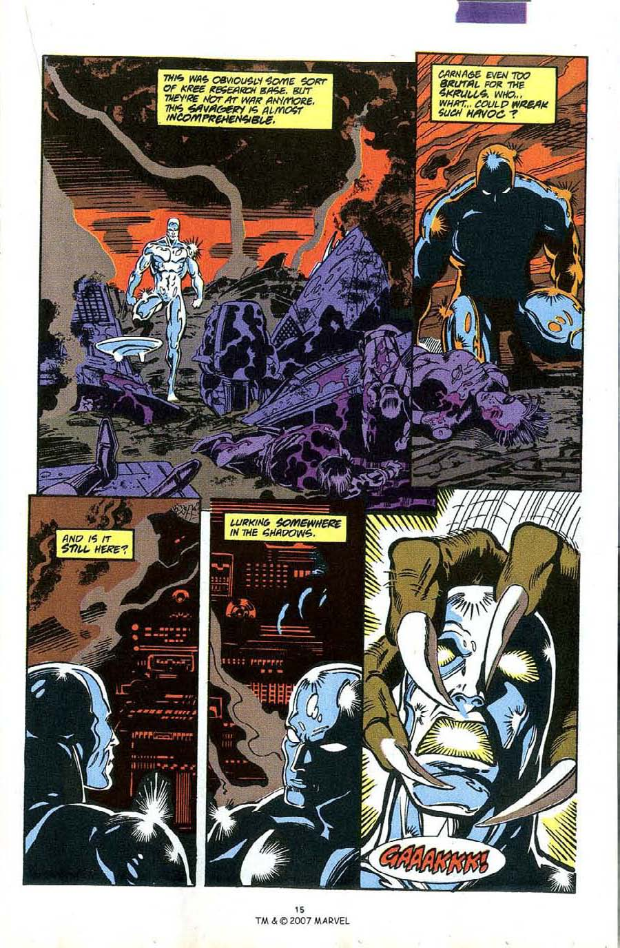Read online Silver Surfer (1987) comic -  Issue #49 - 17