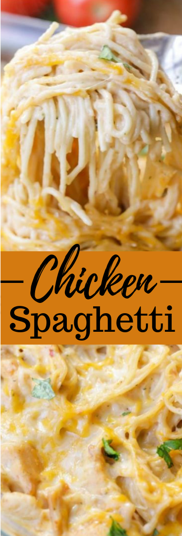 CHICKEN SPAGHETTI RECIPE #recipe #dinner