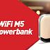 Smartfren Modem WiFI M5 - Desain Menawan Bisa Jadi Power Bank