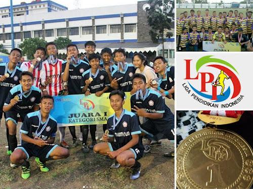 Juara Liga Pendidikan Indonesia 2017 Bandung