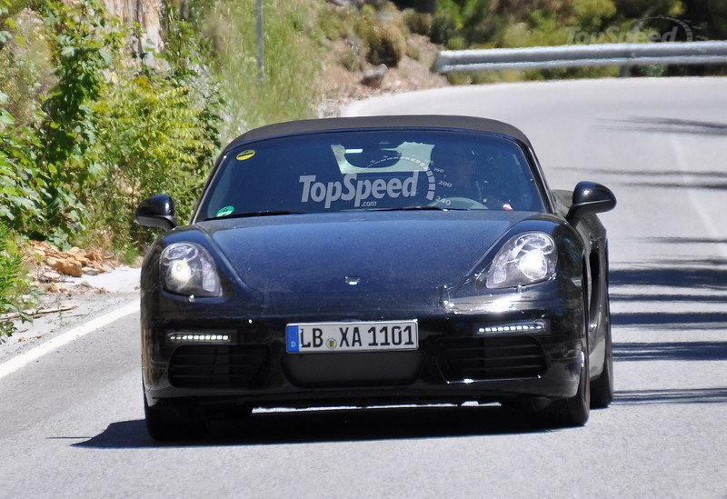 porsche Δίλιτρη, τετρακύλινδρη, με 240 ίππους η νέα Porsche Boxster