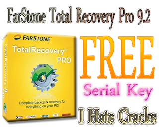 FarStone Total Recovery Pro 9.2 Free Download With Serial Key