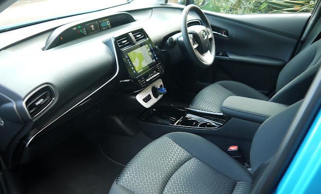 Toyota Prius Plug-in front interior