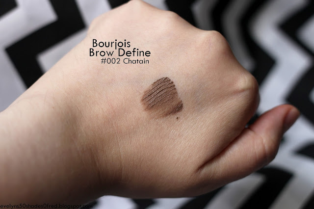 Bourjois, Brow Design maskara do brwi #002 Chatain
