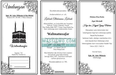 undangan walimatussafar haji doc