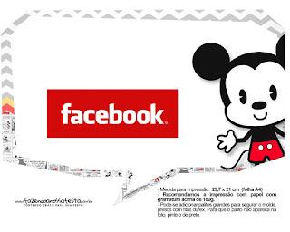 Vintage Mickey: Free Party Printables.