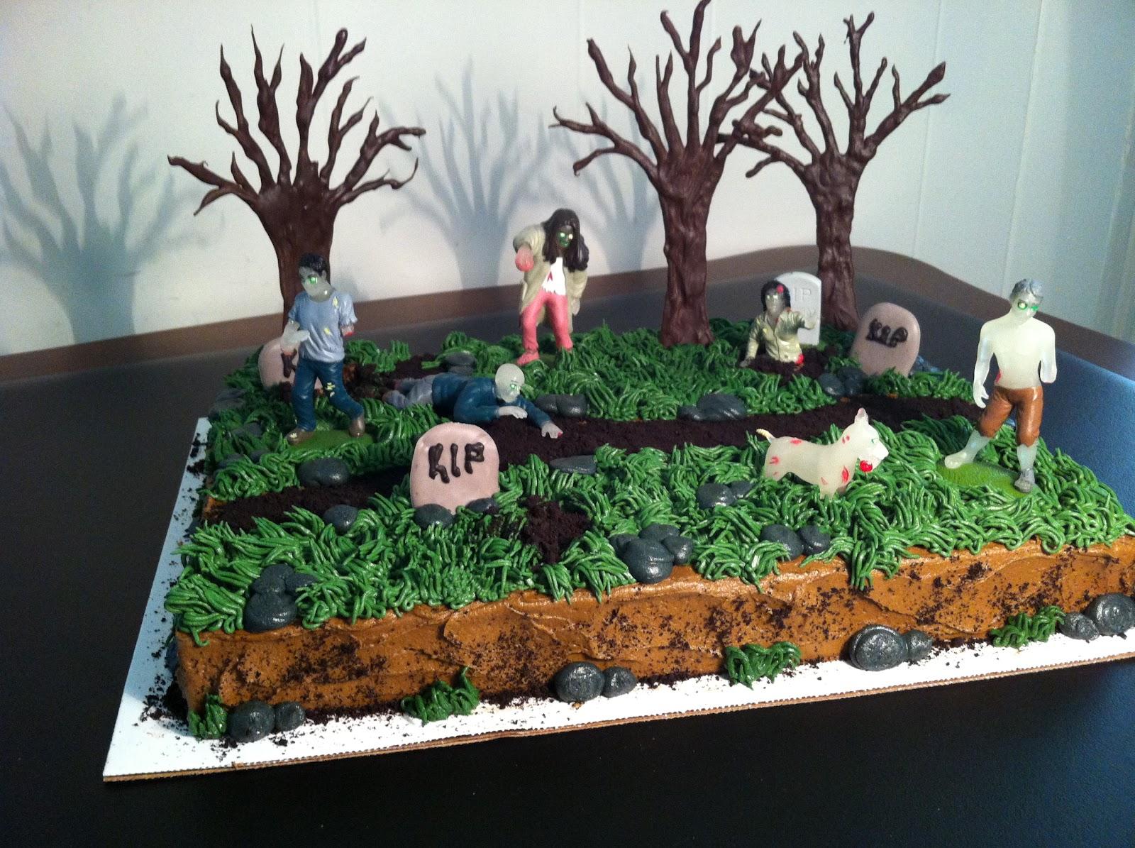 Cake Recipe Zombie Birthday Cake Recipe
