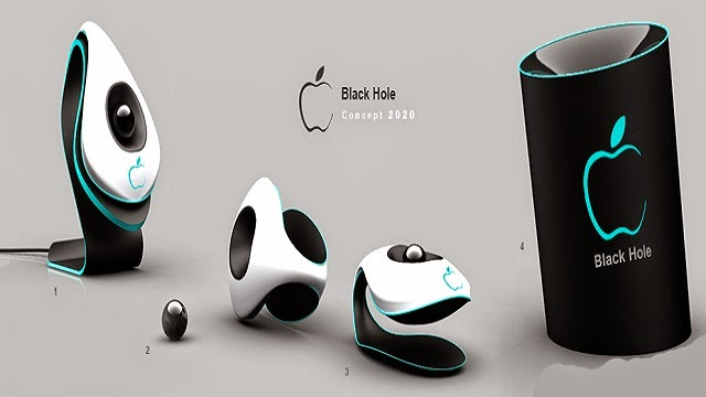 Apple Black Hole – the Holographic phone concept for the ...