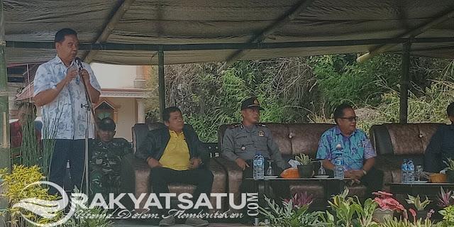 Ratusan Petani Kopi di Lembang Uluway, Lakukan Padat Karya Bersama Dinas Pertanian Tana Toraja