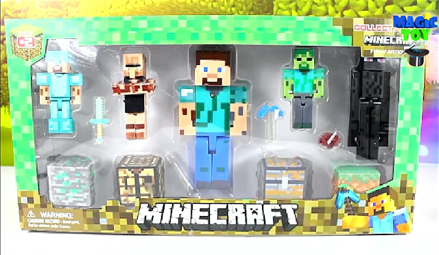 New Minecraft toy unboxing