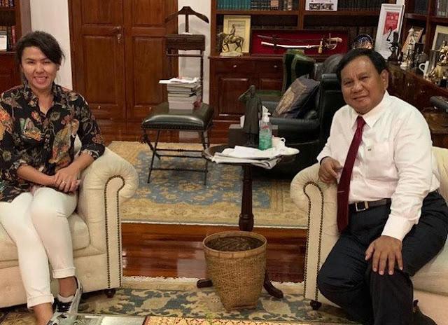 Adik Ahok: Pemimpin Sejati Berhati Besar, Bapak Prabowo Pilihan Terbaik