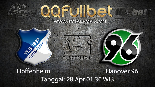 BOLA88 - PREDIKSI TARUHAN BOLA HOFFENHEIM VS HANNOVER 28 APRIL 2018 ( GERMAN BUNDESLIGA )