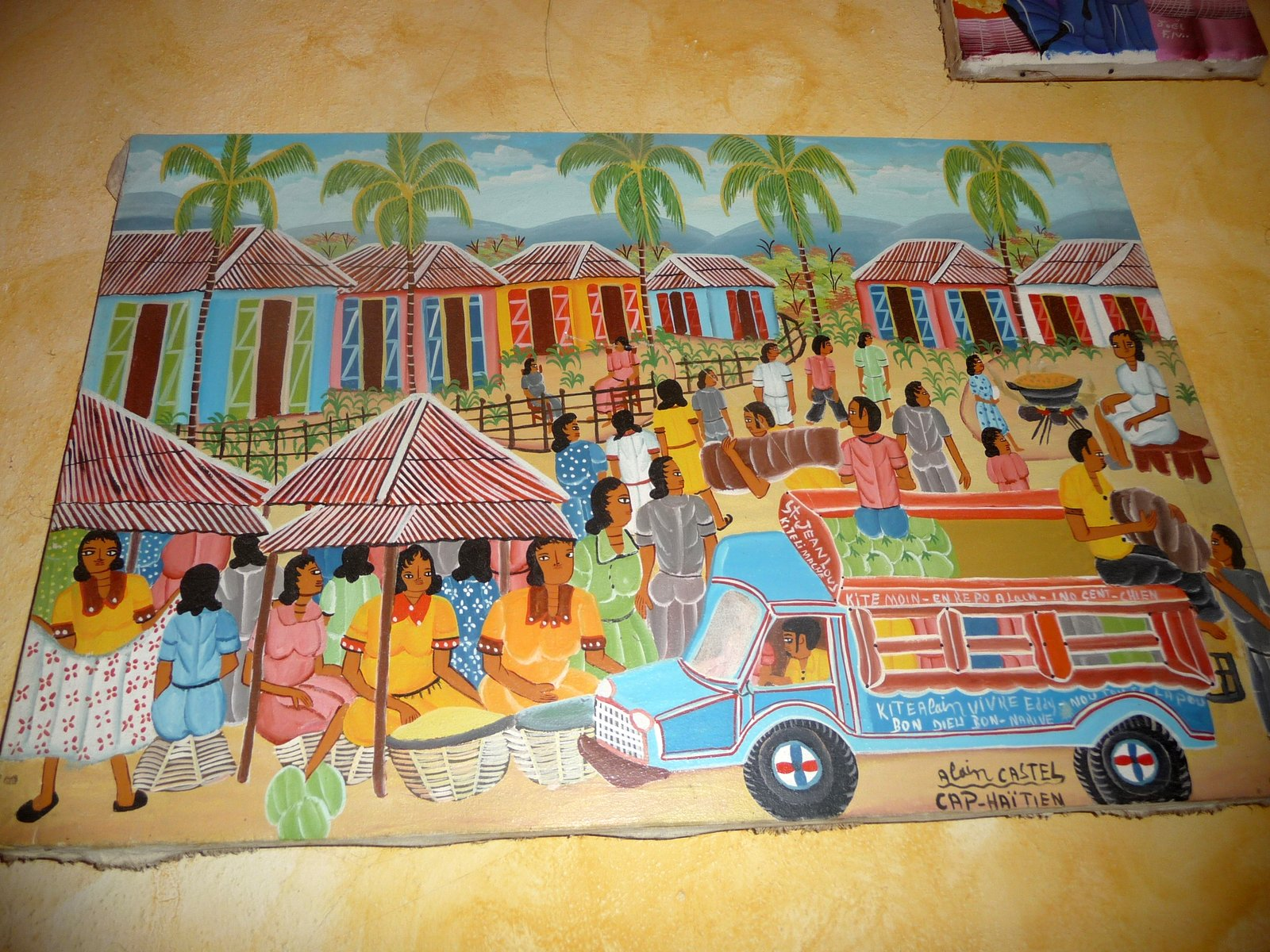 Babsblog Haitian Art And Mexican Folk Art For Sale Sale May 4 2013 San Miguel De Allende
