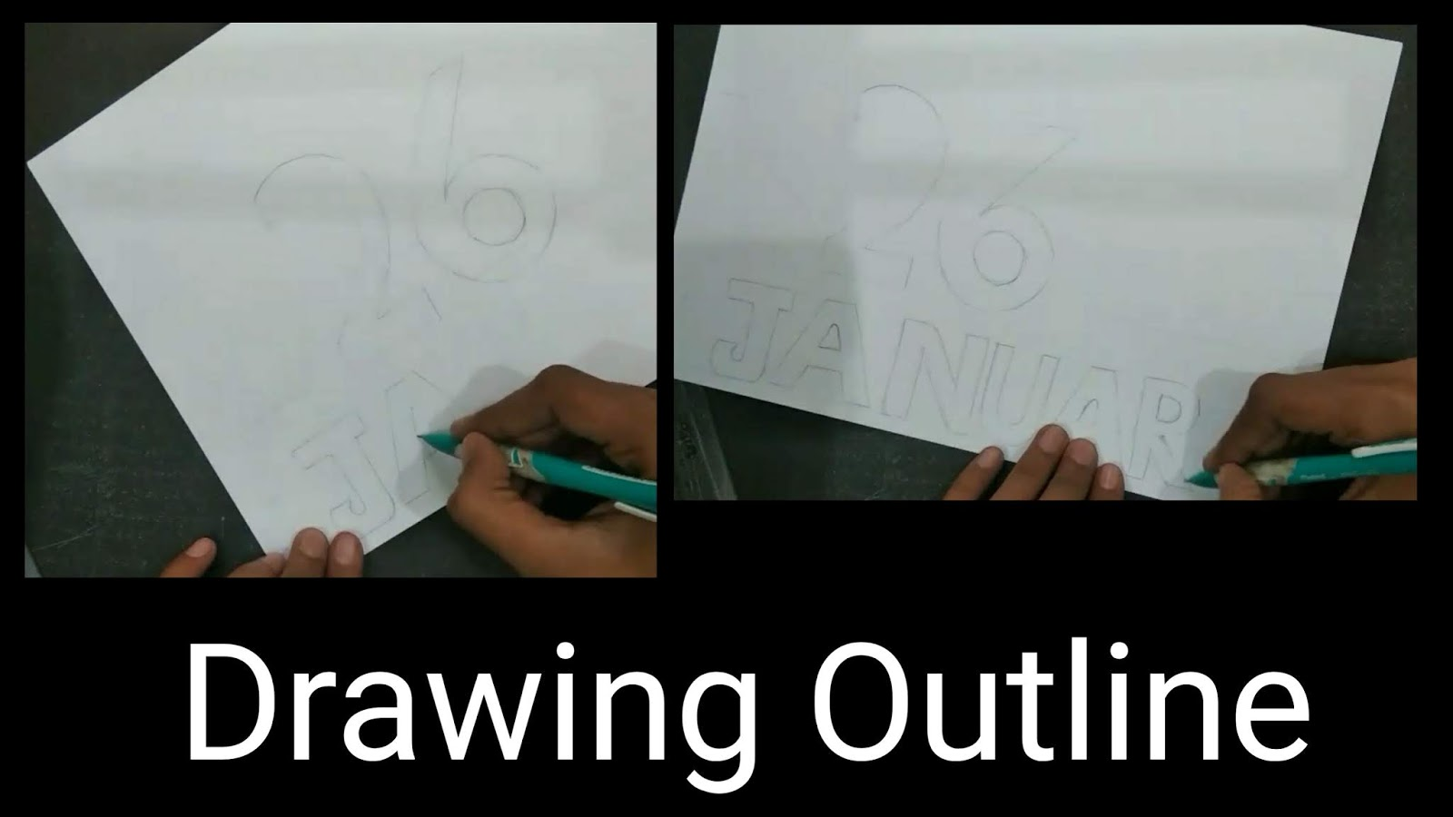 Artofrohitcom Republic Day Poster Drawing Tutorial With Oil