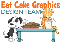 I'm on the Eat Cake Graphics DT