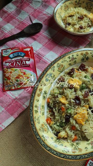 Nasi Goreng Cina Dengan Buah Kurma