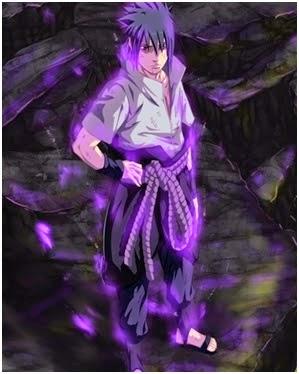 Uchiha Sasuke dengan Rinnegan