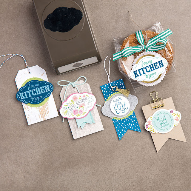 perforatrice Jolie étiquette Stampin' Up!