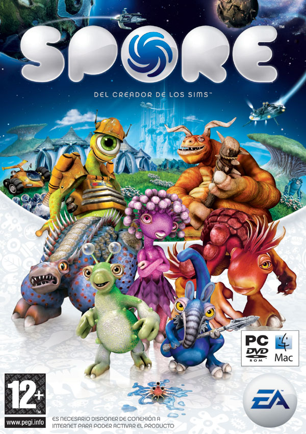 Spore Download Cover Free Game