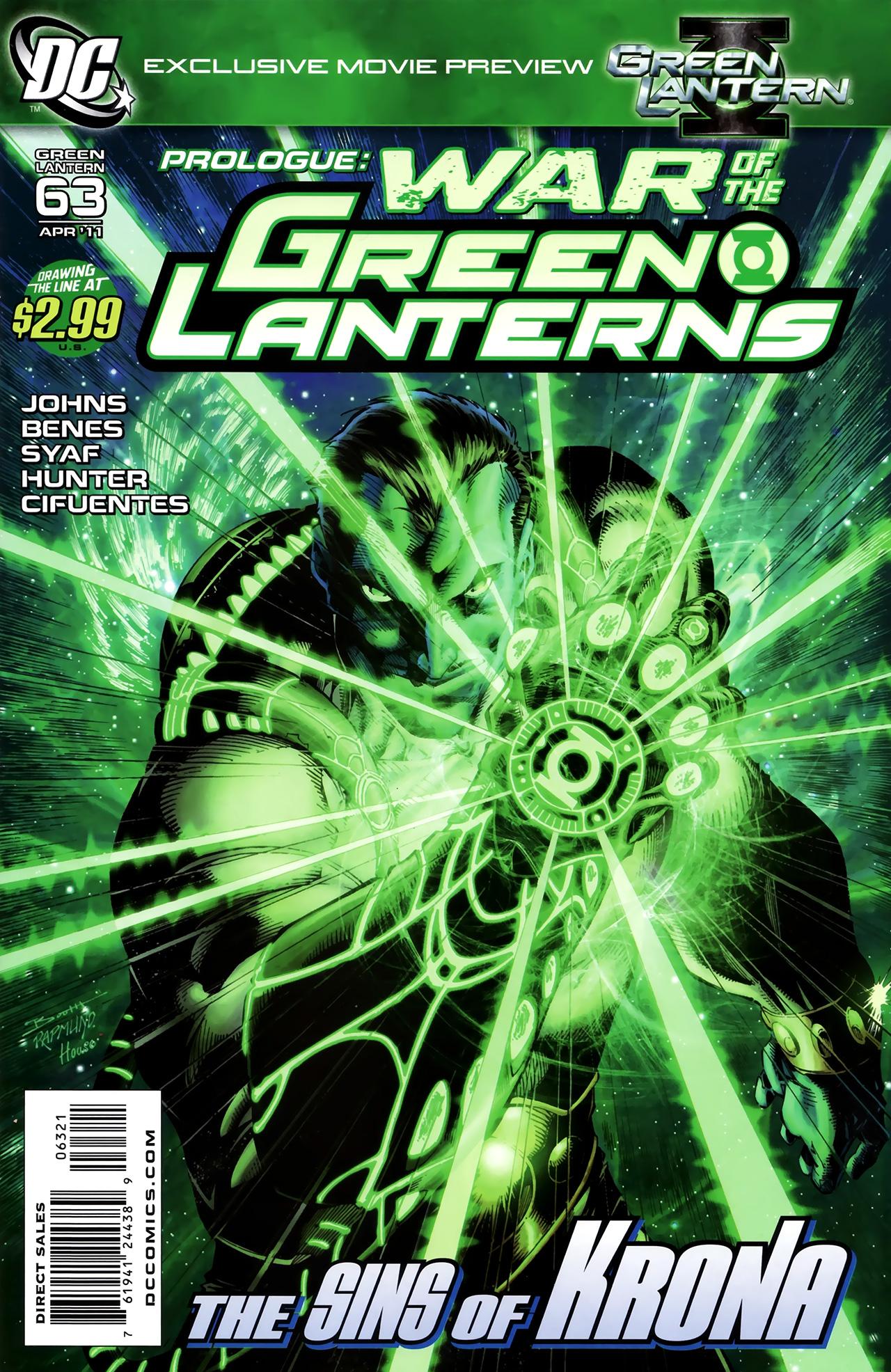 Green Lantern (2005) 63 Page 2